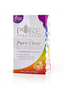 Pure Spectrum Bubble Gum Pure Clear Vape Cartridge Refill (250mg)