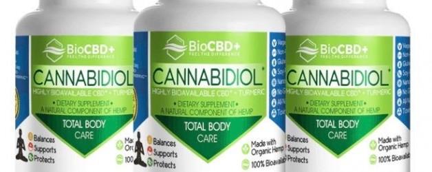 BioCBD Total Body Care CBD Capsules (3 Bottles of 30 Capsules – 900mg)